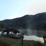 chalet by lake